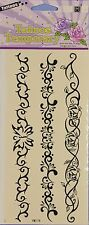 Temporary Tattoos - Floral Scroll