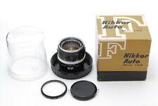 [Excellent+++++!] NIKKOR-S Auto 35mm f2.8 Nippon Kogaku Lens 1:2.8 from Japan