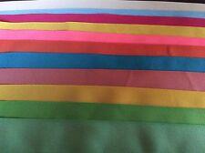 Grosgrain ribbon 2 inch grosgrain ribbon various colors 20 yards 1 yd each Lot 3