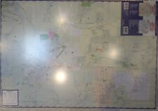 Prescott Verde Valley Yavapai County Laminated Wall Map (G)
