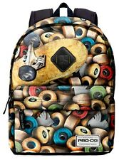 MOCHILA PRO DG FREETIME SKATERS WHEELS Backpack Rucksack Zaino Sac a dos PRO DG