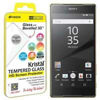 AMZER Kristal HD Tempered Glass Screen Protector for Sony Xperia Z5 Premium