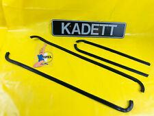New Set Türschachtleisten Outside Front+Rear Opel Kadett C 4-türer Soda Estate