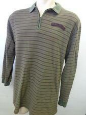 mens RALPH LAUREN POLO JEANS CO 1/3 zip sweater size  Large shirt rugby CLEAN