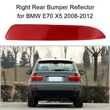 Right Rear Bumper Reflector Fog Warn Light Red Lens For BMW X5 E70 2008-2012
