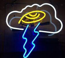 "12""x12"" Cloud Flash Lightning Artwork Home Decor Neon Light Sign"