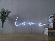 New Simple Love Neon Sign For Bedroom Wall Home Decor Artwork Light With Dimmer