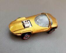 Vintage Hot Wheels Redline Toy Car - Gold SILHOUETTE