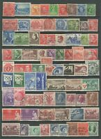 Australia 1930/60 ☀ Collection - 200 + stamps - 4 scans ☀ Used