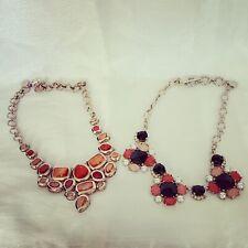 Two Beautiful White House Black Market Necklaces