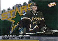 MARTY TURCO STARS AUTOGRAPH AUTO 02-03 PACIFIC ATOMIC #34 *28227