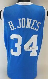 Bobby Jones Signed North Carolina Tar Heels Jersey / 76ers Power Forward JSA COA