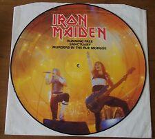 Iron Maiden Running free - 1985 EMI Picture Disc