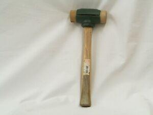 Garland 2 Pound Split-Head Rawhide Face Hammer #31002 - Size 2 - NOS