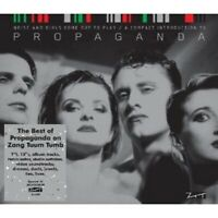 "PROPAGANDA ""BEST OF - NOISE AND GIRLS COME OUT TO PLAY""  CD NEW"