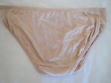 Jockey elance supersoft nude bikini panties, sz 5, NWT