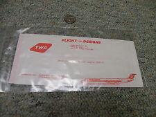 Flight Designs decals 1/144 TWA MD80-82 for 1/200 and 1/144 Sasquatch  F50
