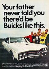 1967 Buick GS-400 Original Advertisement Print Car Ad J650