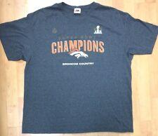 879fb9e5a NFL Denver Broncos Men s 2XL Super Bowl Champions Shirt Broncos Country