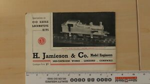 H. Jamieson & Co Model Engineers
