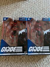 GI JOE CLASSIFIED RED NINJA PAIR. IN BOX, NEVER OPENED!