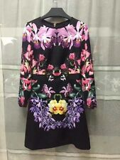 Nouveau Ted Baker lesquelles TOONA Lost Gardens dress SZ 4 UK 14