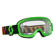 Scott Buzz Pro Kinder MX Goggle Cross//MTB Brille rot//grau//goldfarben Chrom Works