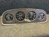 Very Nice All Original 1933 Buick Instrument Gauge Dash Panel Rat Rod SCTA TROG