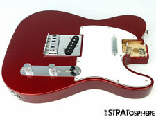 2017 Fender Standard Telecaster Tele LOADED BODY Guitar Parts Candy Apple Red