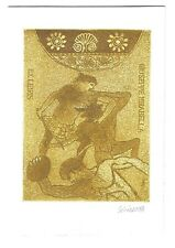 LUCIANO SCHIAVO: Exlibris für Giuseppe Mirabella