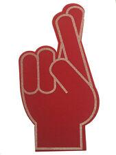 Crossed Fingers For Good Luck giant foam pointy finger