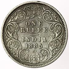 India 1885 One Rupee ~ C2/I, B(i) Top, SW6.88, PR170 ~ Rare Key Type for Date