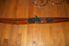 New listing Vintage Beautiful Wooden Deluxe Combo Water Ski In Good Condition