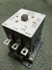 Square D Contactor PG3.11L 230/460V 25/50HP 120V Coil Used
