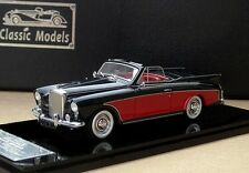 Bentley SI Riviera Honeymoon Express 1958  (Black / Red)1/43