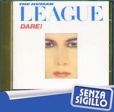 """THE HUMAN LEAGUE """" DARE """" CD NUOVO DI NEGOZIO VIRGIN 1983"""