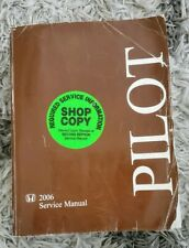 2006 HONDA PILOT Service Repair Shop Workshop Manual Set OEM Factory