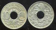 FRANCE  FRANCIA   10 centimes 1922 POISSY lindauer