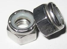 3/8 UNC Nylon Insert Nyloc Nuts Stainless (Qty 5)