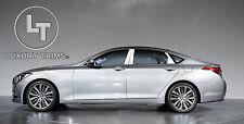 Fits Genesis 4DR Sedan Stainless Steel Pillar Posts by Luxury Trims 2015-2016 6p