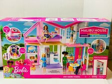 Barbie Malibu 2 Story 6 Room house Playset with over 25 Accessories Unopened Box