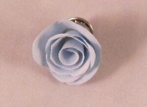 Rose Bud Flower Men's Lapel Pin Boutonniere - Weddings / Formal / Everyday