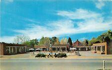 Williamsburg Virginia Tioga Court Motel Postcard c1960s George Constantino Owner