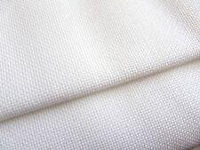 White 25 count Zweigart Lugana evenweave fabric 50 x 70 cm