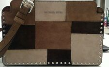 NWT Michael Kors Astor Large Messenger Dark Caramel Crossbody Bag - RETAIL $268
