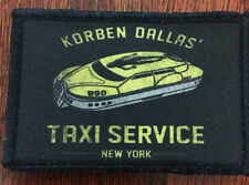 Fifth Element Corben Dallas Taxi Morale Patch Tactical Military Army Badge