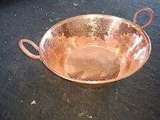 Mexican Pure Copper Pot for Carnitas Cazo. (11 x 5 in) for cooking or decoration