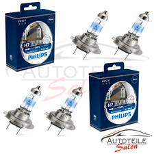2x Doppelpack Philips RacingVision H7 +150% 12972RV+S2 Set DUO 4x H7 VW