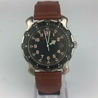 Victorinox Mens Swiss Made Quartz Stainless Steel Round Wrist Watch Vintage