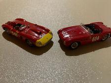 Lot of 2 1/43 Ferrari Vintage Ferrari Race Cars